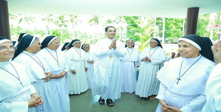 Final Profession , Auxilary Bishop , Mar Jose Puthenveetil