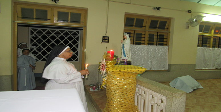 Inaguration of the Golden Jubilee of Sr. Filby